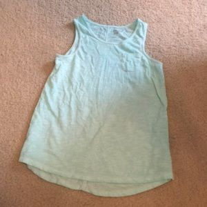 Mint Green Tank Top with Pocket
